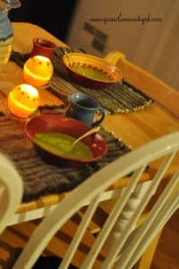 Table Setting Ideas: Creating Peace with Oranges