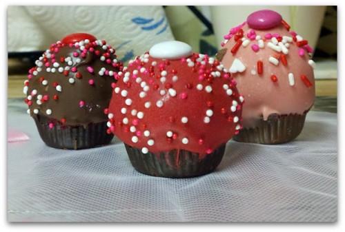 Red Velvet Creamcheese Cupcake Bites