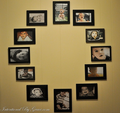 make time for a simple diy project how to create a photo wall clock