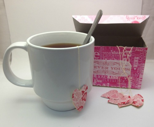 Decorated Tea Bag