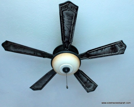 Clean your ceiling fan without making a mess i recently ran across this post on pinterest telling me how to clean it a little easier aloadofball Gallery