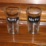 Never Lose Your Drinking Glass Again – a Chalkboard Glass Tutorial