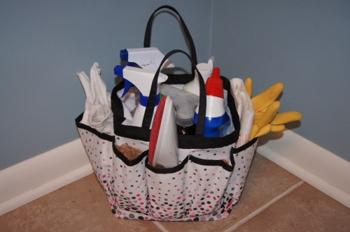 All my cleaning supplies in one place