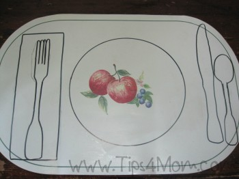 table setting, teaching children to set table, children, meals