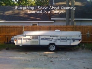 Everything I Know About Cleaning I Learned in a Camper
