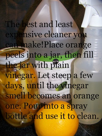 vinegar, orange vinegar, cleaning recipe, vinegar recipe