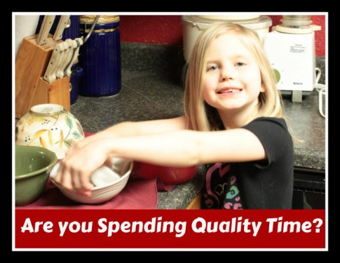 Are You Spending Quality Time With Your Children?