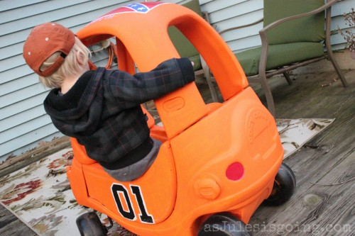 The General Lee Little Tikes Car How To