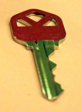 Painted Key