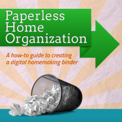 Paperless Home Organization