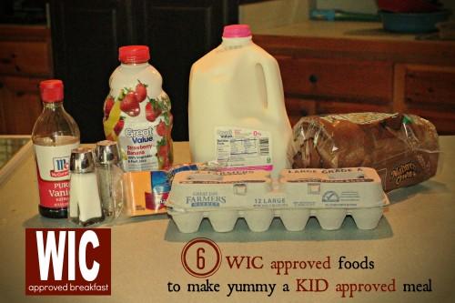 WIC Approved Breakfast