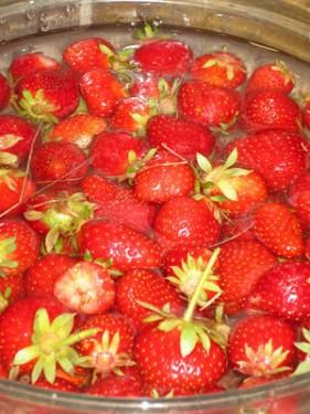 Easy, Fresh Strawberry Sorbet