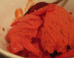 Easy, Fresh Strawberry Sorbet