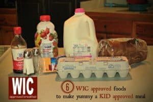 WIC Approved Breakfast Recipes