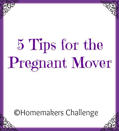 5 Tips for the Pregnant Mover
