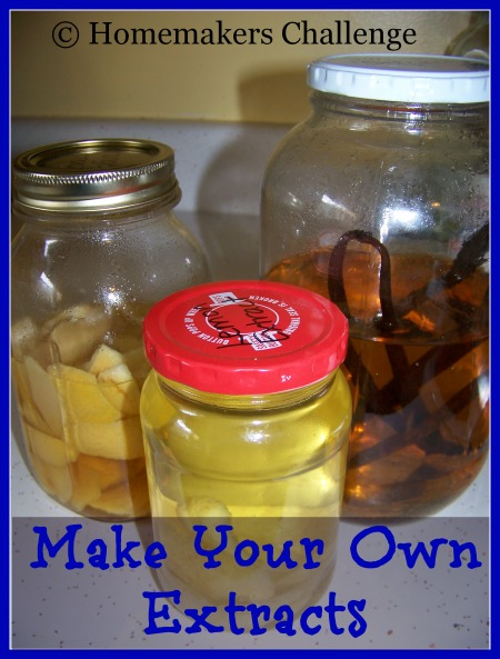 Make Your Own Extracts