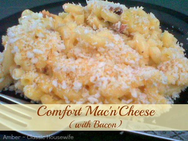 comfort mac n cheese