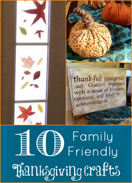 10 Family Friendly Thanksgiving Crafts at Homemakers Challenge
