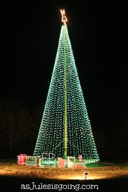 Drive around and view Christmas lights
