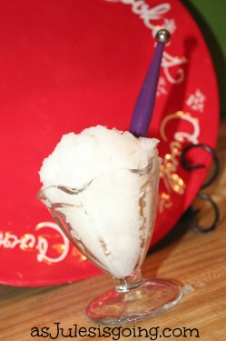 Make Snow Icecream