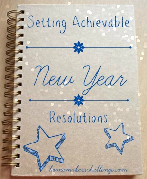 Setting Achievable New Year Resolutions at Homemakers Challenge