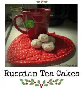 Russian Tea Cakes ~ Successful Homemakers