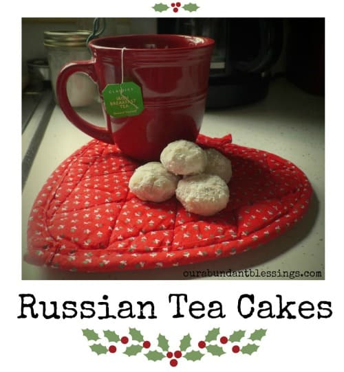 Russian Tea Cakes ~ Successful Homemakers