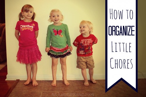 How to Organize Little Chores at Homemaker's Challenge