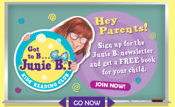 Junie B Jones reading club