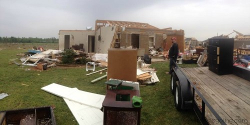 unedited reality of a home after a tornado 3 practical ways to mobilize aid for these people
