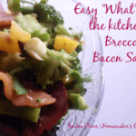 Quick and Easy Broccoli Bacon Salad