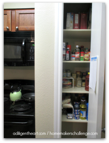 My Kitchen Food Pantry Shelving