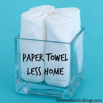 Paper Towel Less Home at Homemaker's Challenge