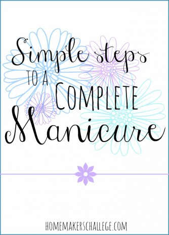 Simple steps to a complete manicure @LaurieBostwick