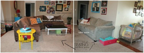 10 Practical Livingroom Zones to Make Hospitality Natural {with Lots of Littles}