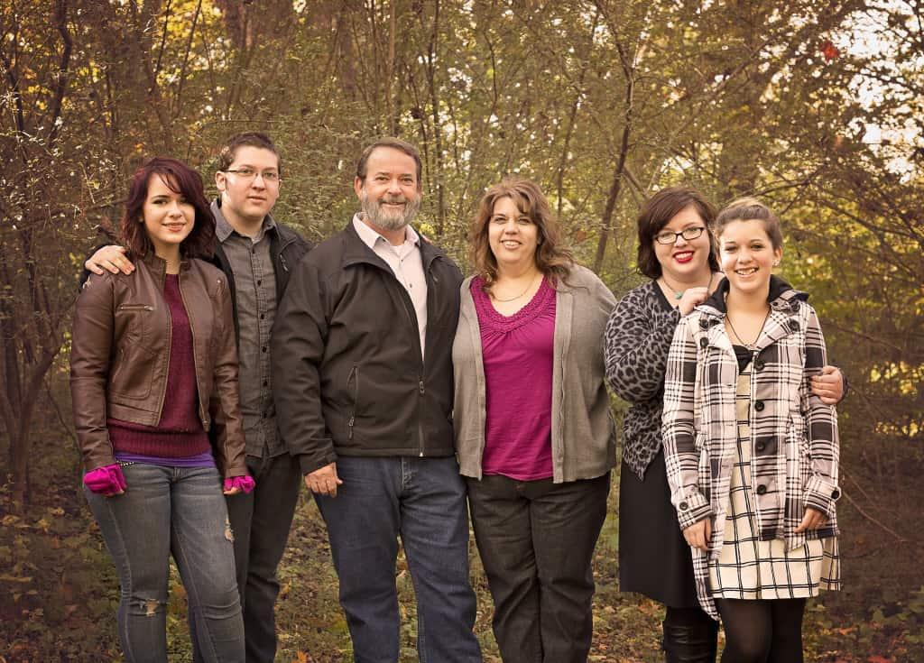 2014 Family standing apart
