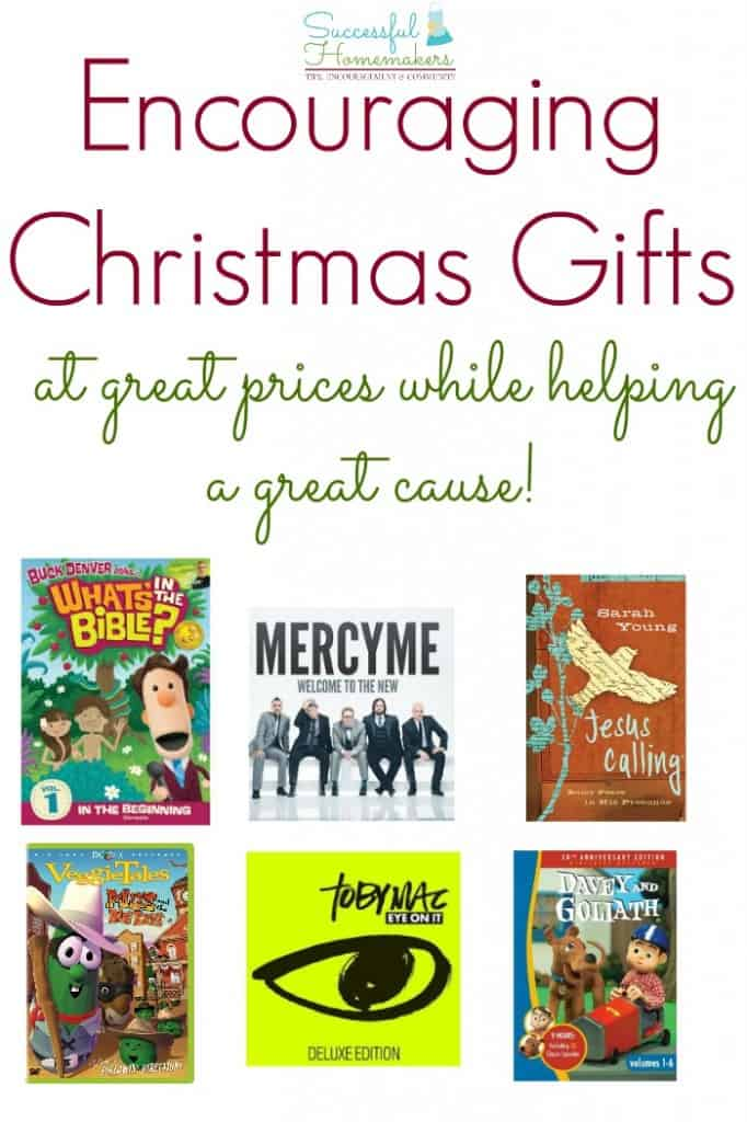 encouraging christmas gifts at great prices while helping a great cause