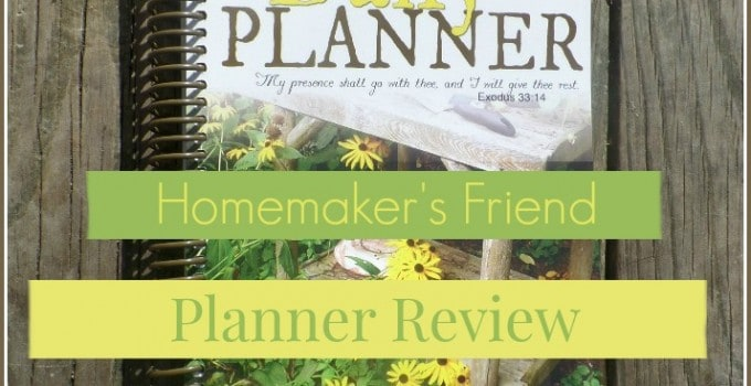 Get organized in 2015 with Homemaker's Friend!