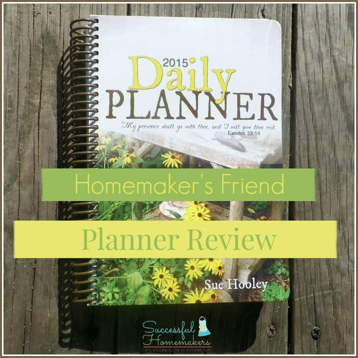 Get organized in 2015 with Homemaker's Friend! ~ Successful Homemakers