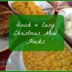 Quick & Easy Christmas Meal Hacks ~ Successful Homemakers