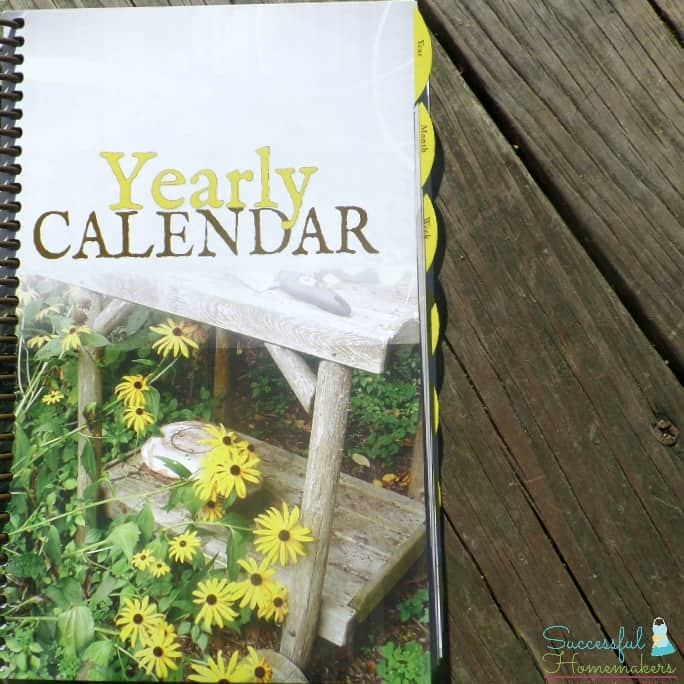 Get organized with the Homemaker's Friend Daily Planner! from Successful Homemakers