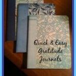 Quick & Easy Gratitude Journals ~ Successful Homemakers