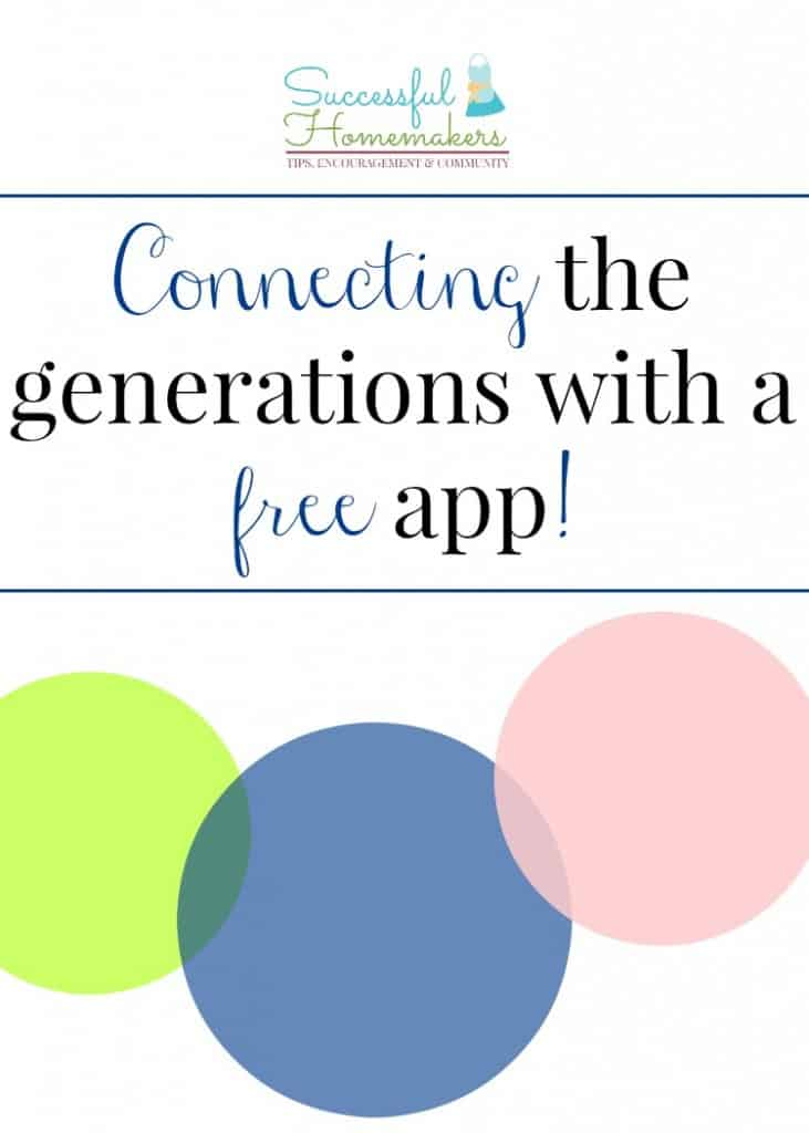 Connecting the Generations graphic