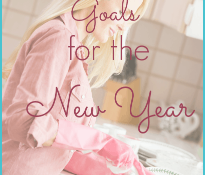 Homemaker's Goals for the New Year
