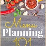 Menu Planning 101 ~ Successful Homemakers
