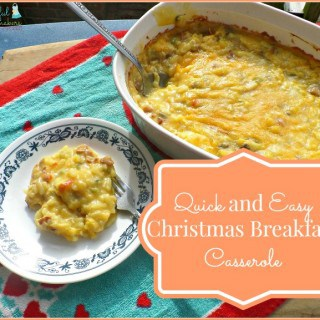 Quick and Easy Christmas Breakfast Casserole