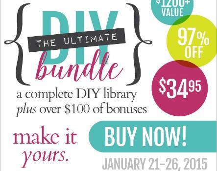 Crafts and DIY Bundle Sale!