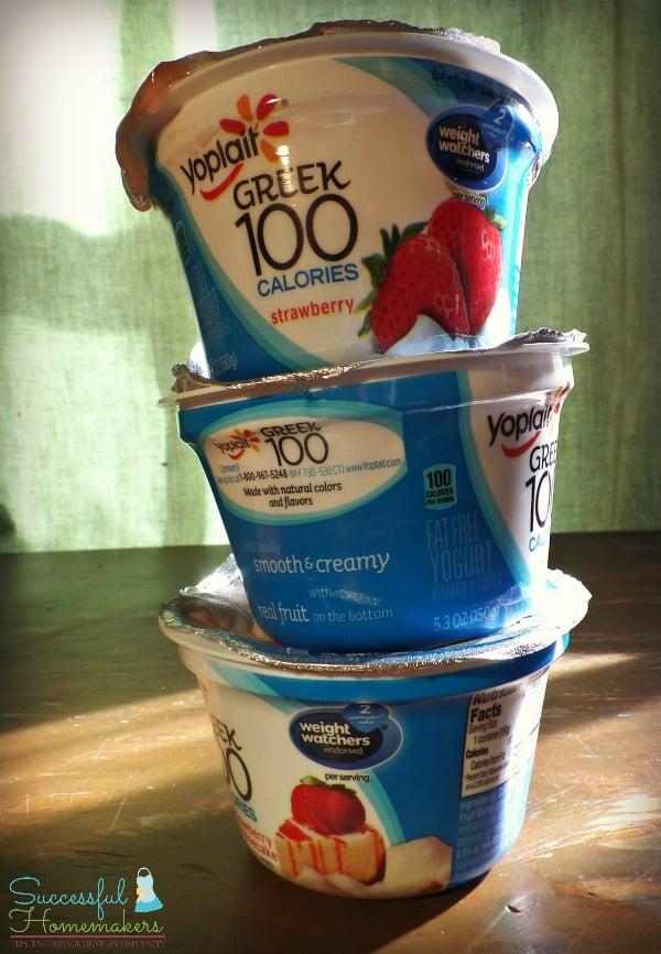 3 Delicious Yogurt Parfaits Under 150 Calories ~ Successful Homemakers