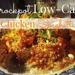 Crock Pot Low-Carb Chicken Spaghetti ~ Successful HomemakersCrock Pot Low-Carb Chicken Spaghetti ~ Successful Homemakers