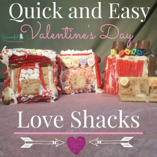 Quick and Easy Valentine's Day Love Shacks! ~ Successful Homemakers